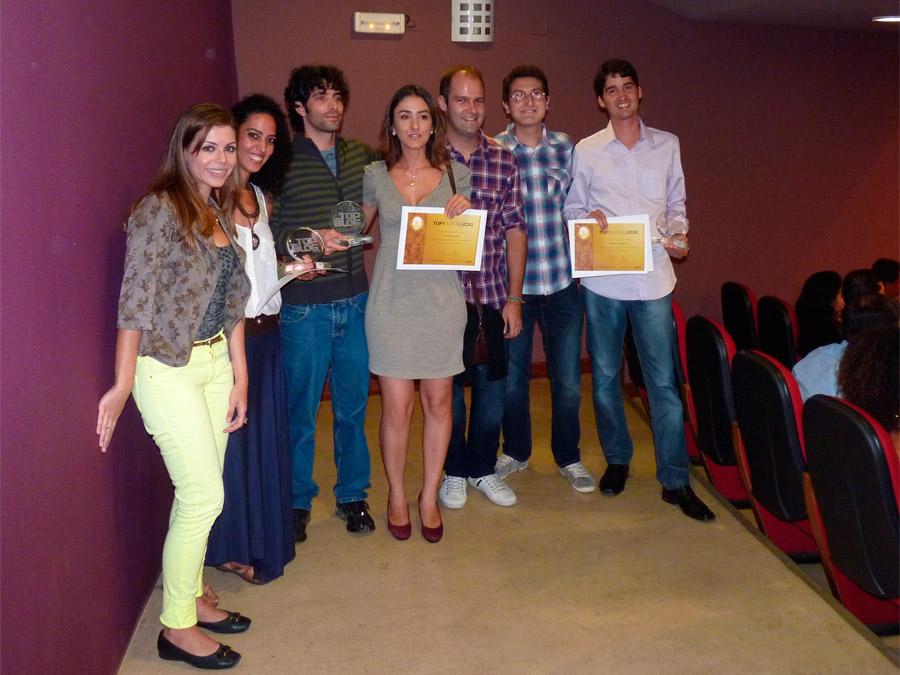 Top Blog: Representantes dos blogs: Diários Radical, Dentro do Mochilão, Aventure-se, Esse Mundo É Nosso e Melhores Destinos
