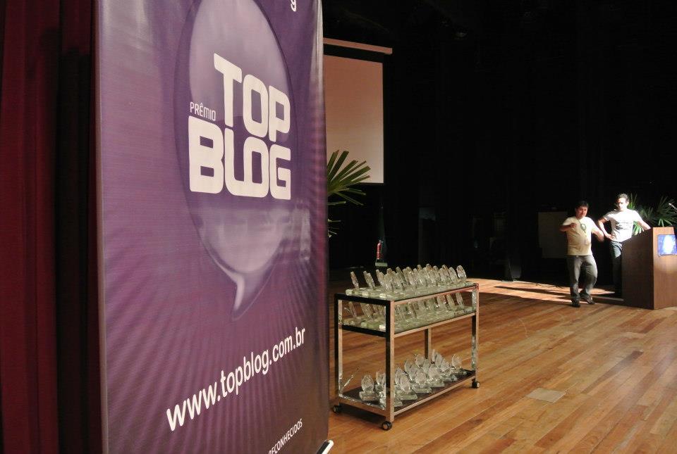 Prêmio Top Blog (Foto: Divulgação/Top Blog)