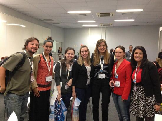 Blogueiros da RBBV marcando presença na WTM