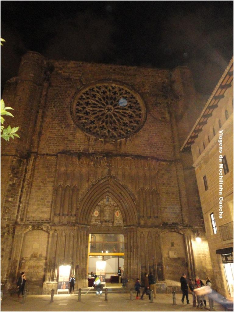 Bairro Gótico em Barcelona, Espanha