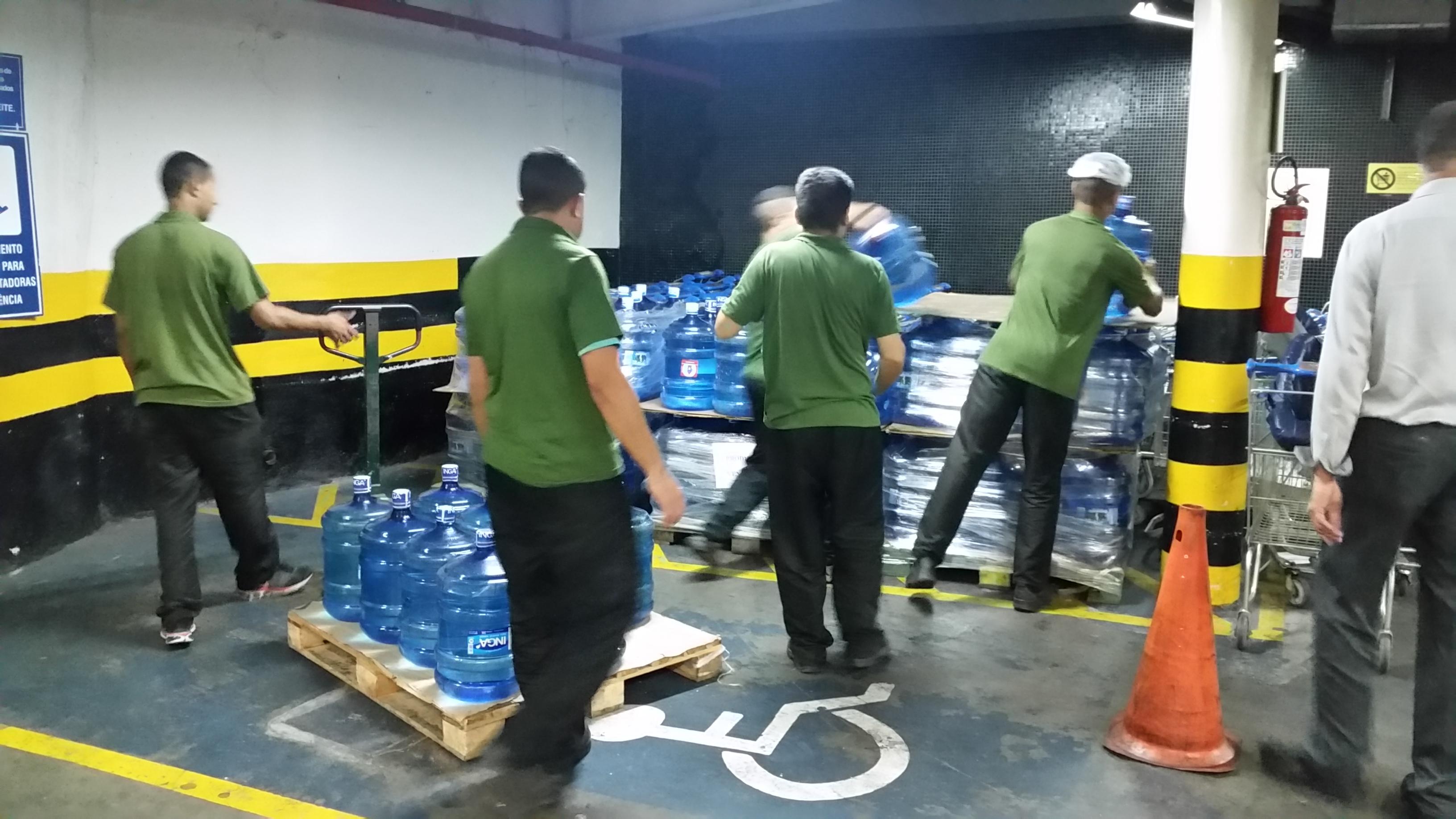 RBBV doa água aos atingidos pela lama da Samarco