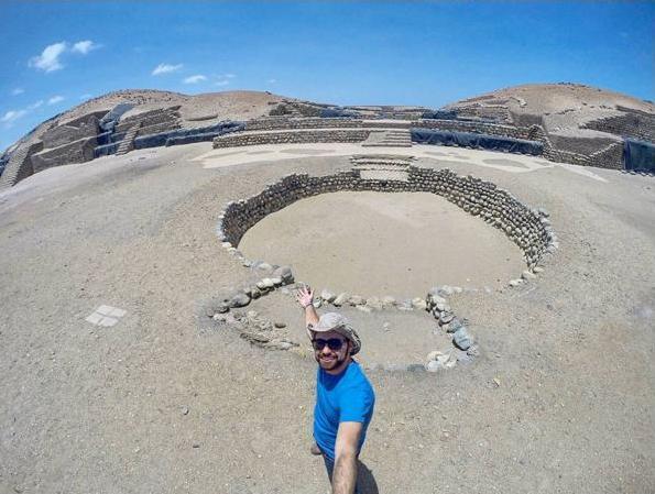 Sítio Arqueológico de Bandurria, na região de Huacho - Peru