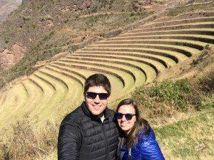 Lu no Vale Sagrado, em Cusco - Peru